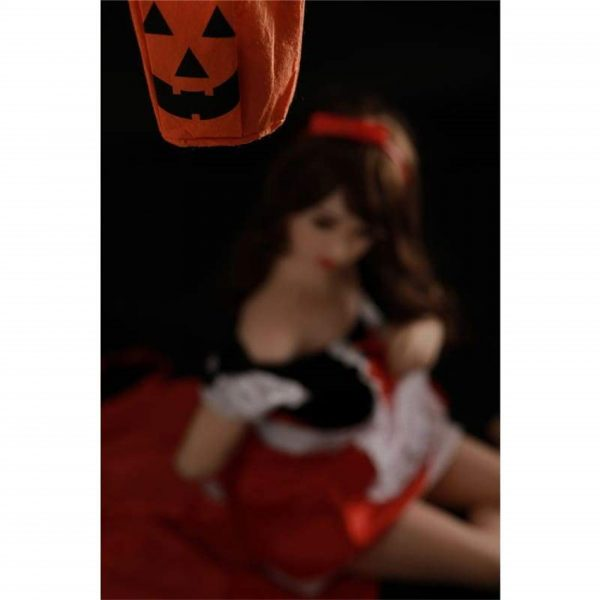 Halloween Solid Silicone Sex Dolls Small Breast For Men
