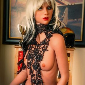 Hot Lady Flat Chest Real Life Sex Doll Silicone 5ft 2in (158cm)