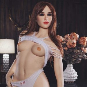5ft 2in (158cm) Love Doll Hot Lady Red Head Japanese Sex Doll