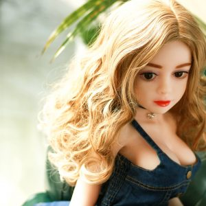 125cm Mini Full Body Sex Doll Blonde Yang Girl