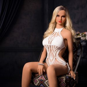 158cm Small Breasts Blonde For Men Full Body Sex Doll
