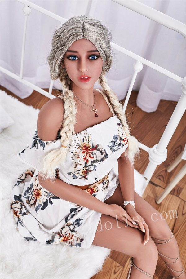 Female Black Young Girl Floral Skirt For Men Huge Boob Full Body Sex Doll