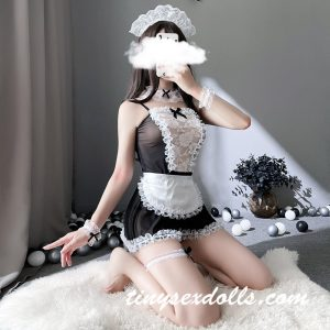 Maid Outfit Clothes For Sex Doll