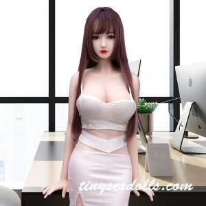 Female Young Girl Long Hair Full Body White Skirt For Men Sex Doll